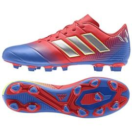 Buty piłkarskie adidas Nemeziz Messi 18.4 FxG M D97273 wielokolorowe wielokolorowe