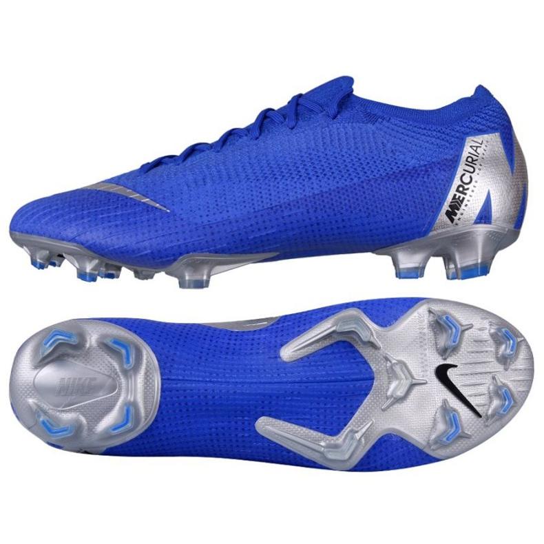 Buty piłkarskie Nike Mercurial Vapor 12 niebieskie