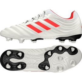 Buty piłkarskie adidas Copa 19.3 Fg M BB9187 białe białe