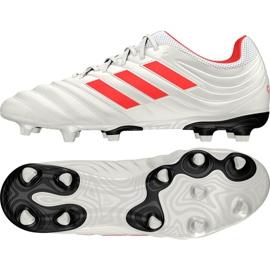 Buty piłkarskie adidas Copa 19.3 Fg M BB9187 biały białe