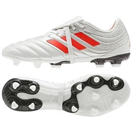 Buty piłkarskie adidas Copa Gloro 19.2 Fg M D98060 białe wielokolorowe