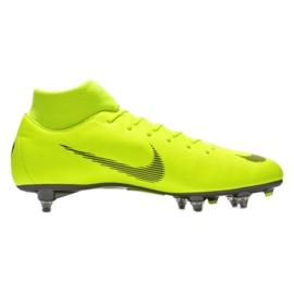 Buty piłkarskie Nike Mercurial Superfly 6 Academy Sg Pro M AH7364-701 żółte wielokolorowe