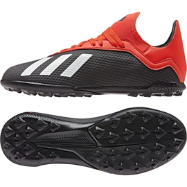 Buty piłkarskie adidas X 18.3 Tf Jr BB9402