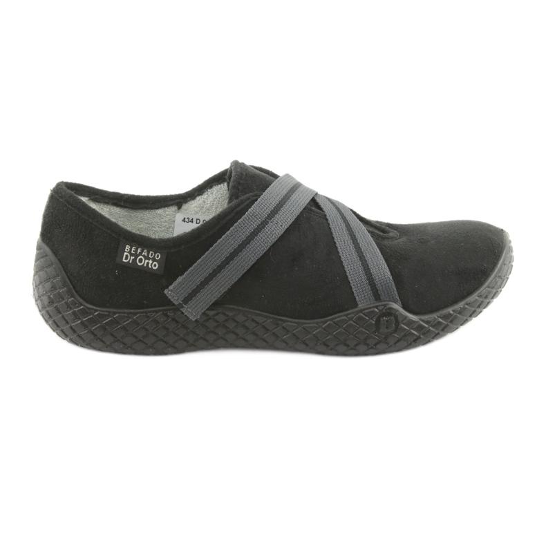 Befado obuwie damskie pu--young 434D014 czarne