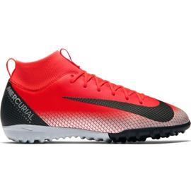 Buty piłkarskie Nike Mercurial Superfly X 6 Academy Gs CR7 Tf Jr AJ3112-600