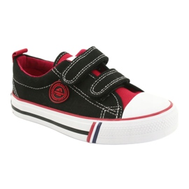 American trampki buty dziecięce American Club czarne