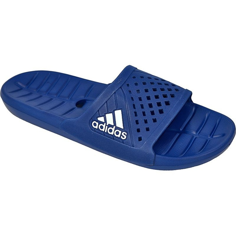 Klapki adidas Kyaso M S78122 niebieskie