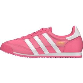 Różowe Buty adidas Originals Dragon Og Jr BB2489