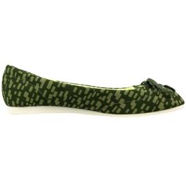 Zielone Buty Reebok Royal Ballerina W V55847