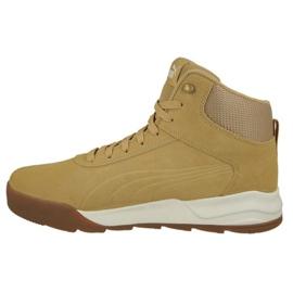 Brązowe Buty Puma Desiero Sneaker Taffy M 361220 01