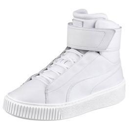 Białe Buty Puma Platform Mid Wn s W 364242 02