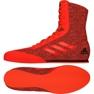 Buty bokserskie adidas Box Hog Plus czerwone