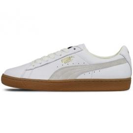 Białe Buty Puma Basket Classic Gum Deluxe M 365366 01