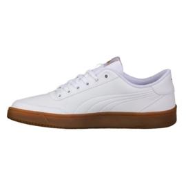 Białe Buty Puma Court Breaker L Mono M 364976 04