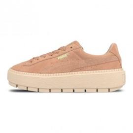 Różowe Buty Puma Platform Trace W 365830 05
