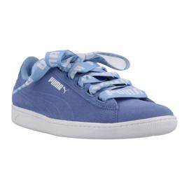 Niebieskie Buty Puma Vikky Ribbon Bold Spiced W 365312 03
