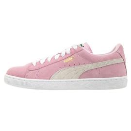 Różowe Buty Puma Suede Pink Lady Jr 3551103 01