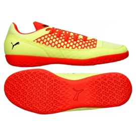 Żółte Buty sportowe Puma 365 Nf Ct M 104875 01