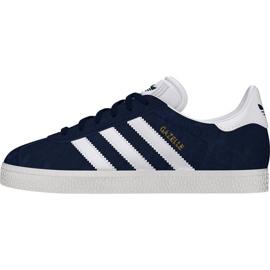 Granatowe Buty adidas Originals Gazelle Jr BY9144