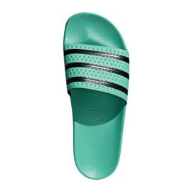 Klapki adidas Originals Adilette Slides U CQ3100 czarne zielone
