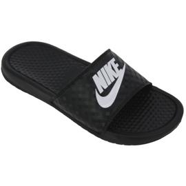 Klapki Nike Benassi Just Do It W 343881-011 czarne