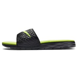 Czarne Klapki Nike Benassi Solarsoft Slide 705474-070