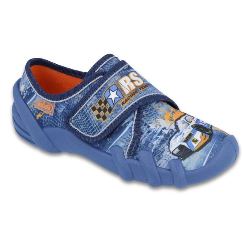 Befado obuwie dziecięce 273X252 niebieskie