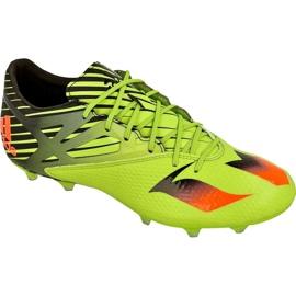 Buty piłkarskie adidas Messi 15.2 FG/AG M S74688 zielone zielone