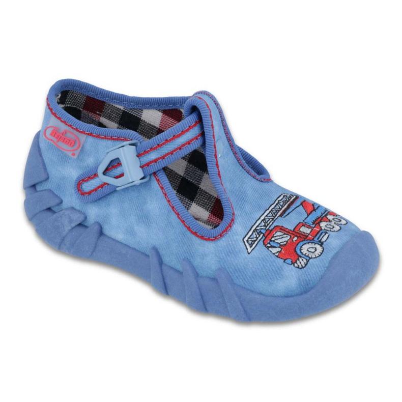 Befado obuwie dziecięce 110P343 niebieskie
