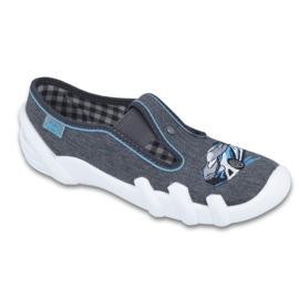 Befado inne obuwie dziecięce 290Y183 niebieskie szare