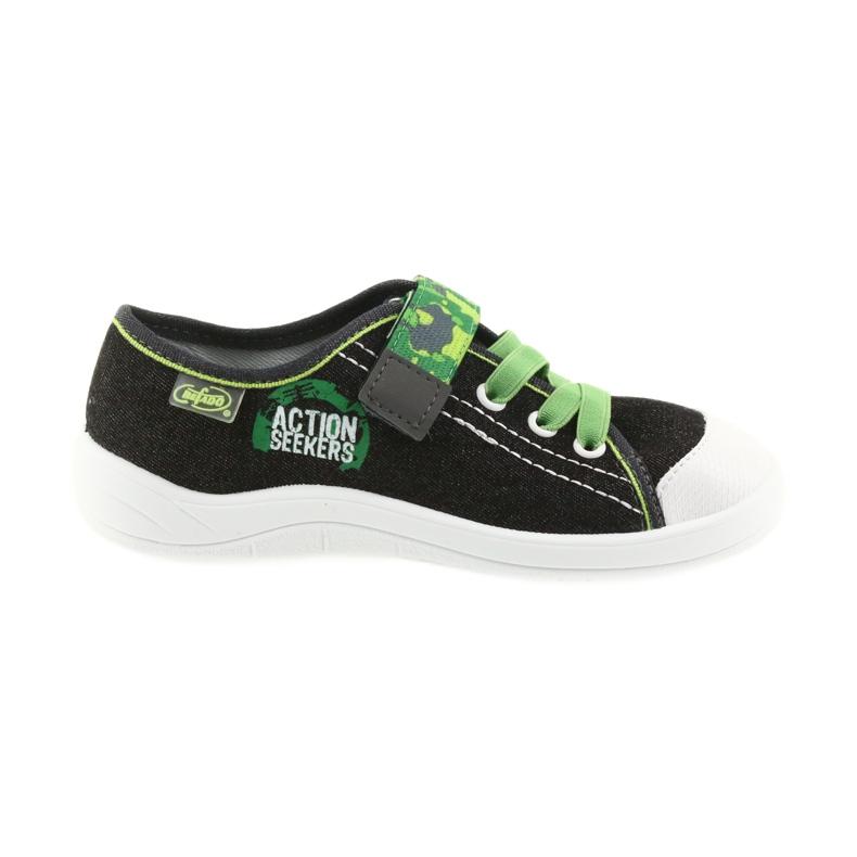 Befado obuwie dziecięce 251X102 szare zielone