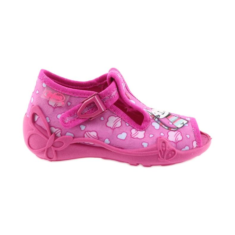 Befado różowe obuwie dziecięce 213P108