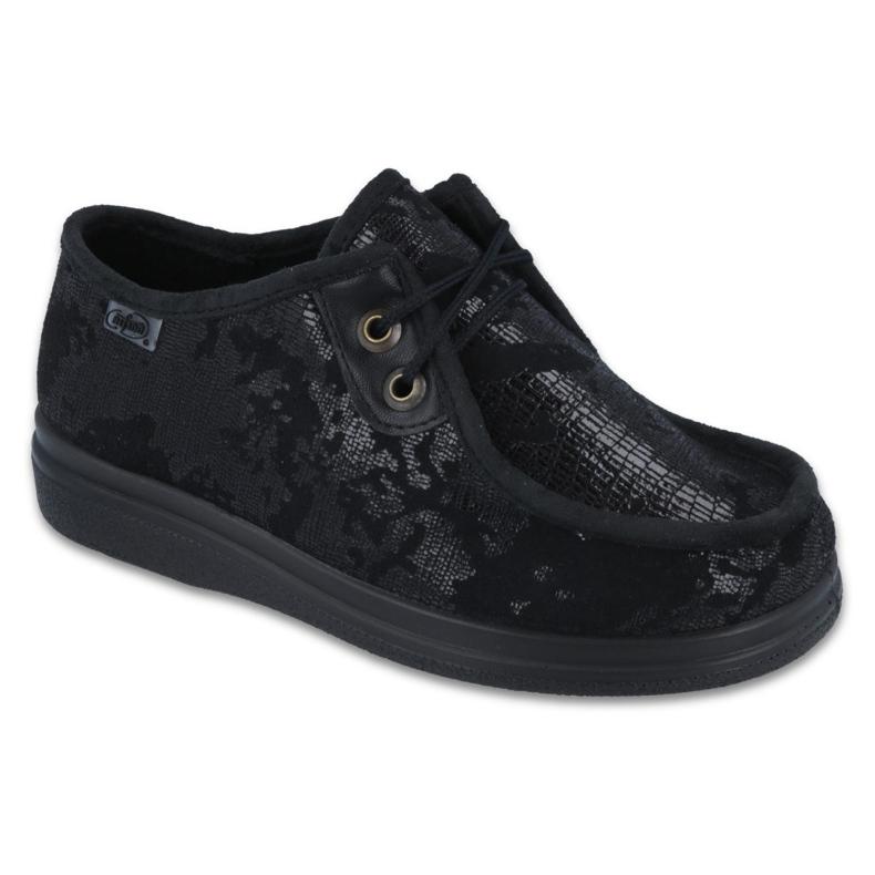 Befado obuwie damskie pu 871D008 czarne