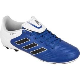Buty piłkarskie adidas Copa 17.4 FxG Jr BA9734 niebieskie niebieskie
