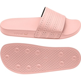 Różowe Klapki adidas Originals Adilette W BA7538