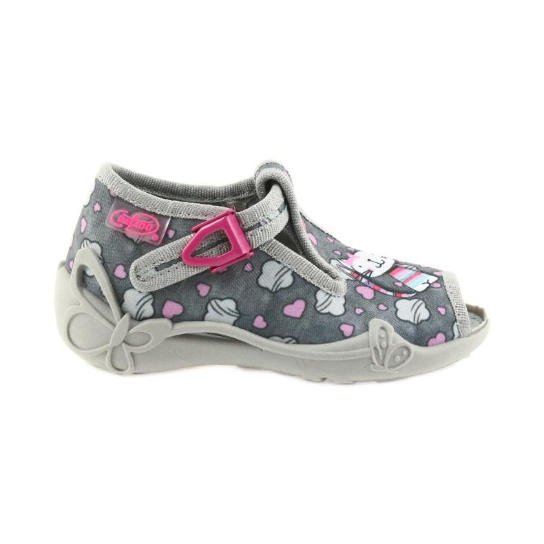 Befado różowe obuwie dziecięce 213P107