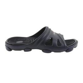 American Club American klapki buty męskie basenowe granatowe