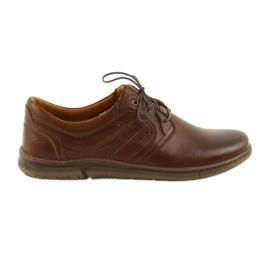 Riko półbuty buty męskie brązowe 870