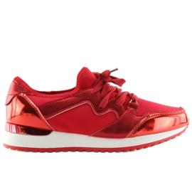 Buty sportowe czerwone 6241 Red
