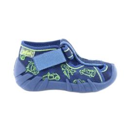 Niebieskie Befado obuwie dziecięce 190P086