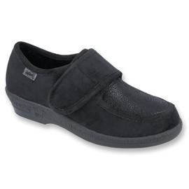 Befado obuwie damskie pu 984D017 czarne