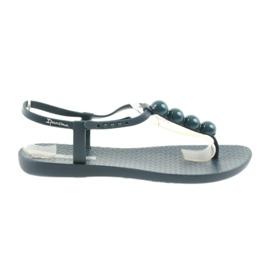 Granatowe Ipanema sandały japonki buty damskie 82517