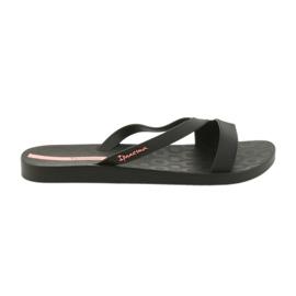 Czarne Ipanema klapki do wody buty damskie 26263