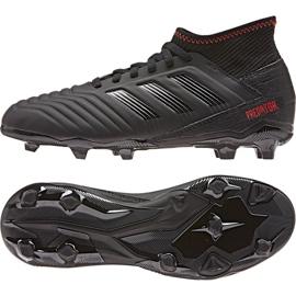 Buty piłkarskie adidas Predator 19.3 Jr D98003 czarne wielokolorowe