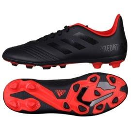 Buty piłkarskie adidas Predator 19.4 FxG Jr G26980 czarne czarne