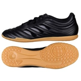 Buty halowe adidas Copa 19.4 In M D98074 czarne wielokolorowe