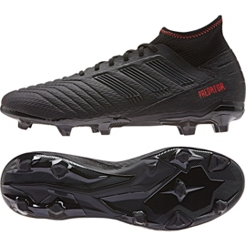 Buty piłkarskie adidas Predator 19.3 Fg M D97942 czarne czarny