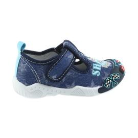 American Club American trampki buty dziecięce na rzepy wkładka skórzana
