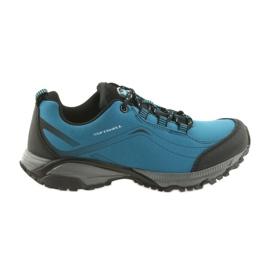 American Club niebieskie ADI buty damskie sportowe wiązane American wodoodporne softhell WT06/19