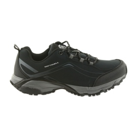 American Club ADI buty sportowe wiązane American wodoodporne softhell  WT04/19 czarne